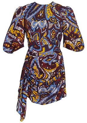 Rhode Resort Pia Paisley Mini Dress