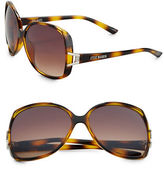 Steve Madden Square 64MM Sunglasses