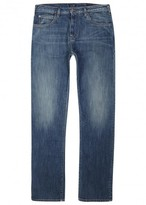Armani Jeans J45 Blue Slim-leg Jeans