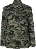 Nili Lotan Camouflage Cargo Jacket