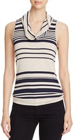 Three Dots Striped Cowl Neck Top - 100% Bloomingdale's Exclusive