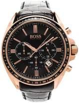 HUGO BOSS Men's 1513092 Leather Analog Quartz Watch