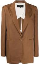 Rochas Quasimodo single-breasted blazer