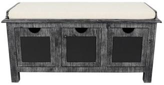 Gracie Oaks Winsted 3 Drawer Upholstered Storage Bench