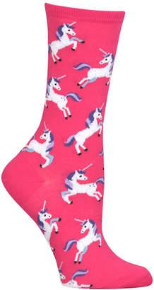 Hot Sox Women Unicorn Fashion Crew Socks