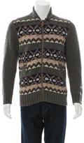 Jack Spade Wool Patterned Sweater
