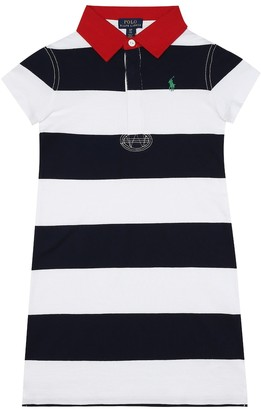 Polo Ralph Lauren Striped cotton shirt dress