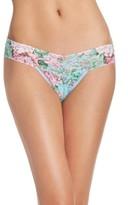 Hanky Panky Women's Capri Bloom Low Rise Thong