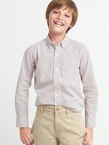Gap Check button-down shirt