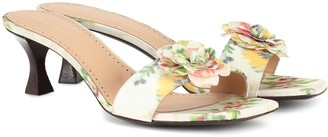Brock Collection Exclusive to Mytheresa Floral sandals
