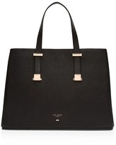 Ted Baker Sevina Micro Bow Crosshatch Tote