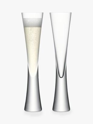 LSA International Moya Champagne Flute, Set of 2
