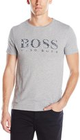 HUGO BOSS BOSS Orange Men's Tommi Printed Logo T-Shirt, Grey