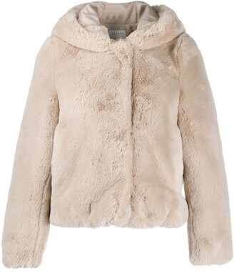 Sandro Hooded Fitted Jacket