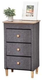 Honey-Can-Do 3-Drawer Fabric Storage Organizer
