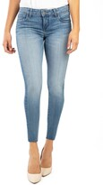 KUT from the Kloth Donna Raw Hem Ankle Skinny Jeans
