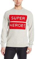 Eleven Paris Men's Superheroes Fleece Sweatshirt