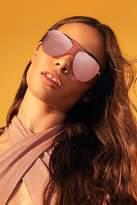 Forever 21 MELT Rimless Aviator Sunglasses