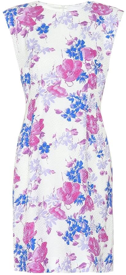 Dries Van Noten Floral jacquard minidress
