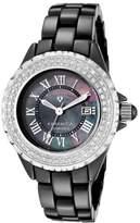 Swiss Legend sl-10051-bkbsr – Ladies Watch – Analogue Quartz – Black Ceramic Bracelet