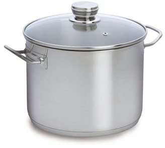 Baccarat Entree 24cm 8 Litre Stainless Steel Stockpot with Glass Lid