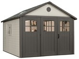 Lifetime Storage Building Shed 11' X 11' - Gray