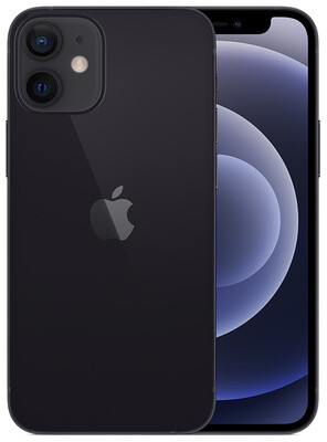 Apple iPhone 12 mini - 128GB Black - Sprint with installment plan)