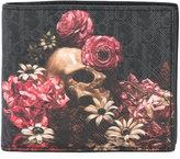Christian Dior floral billfold wallet
