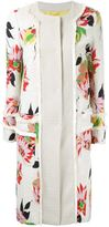 Etro floral print coat - women - Cotton/Polyamide/Polyester/Viscose - 46