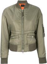 Diesel Black Gold Wissan bomber jacket - women - Polyamide/Polyester/Spandex/Elastane - 38