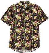 Margaritaville Holiday Birds Christmas Camp Shirt