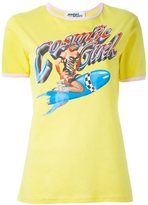 Jeremy Scott pin-up girl print T-shirt - women - Cotton - S