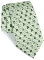 Vineyard Vines Men's Dartmouth Big Green Silk Tie