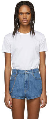 Prada Three-Pack White Jersey T-Shirt