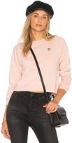 Obey x Debbie Harry Astor Place Sweatshirt in Pink. - size L (also in M,S,XS)