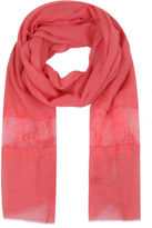 Yours Clothing Yoursclothing Plus Size Womens Ladies Coral Scarf Shawl Wrap Lace Insert