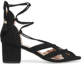 MICHAEL Michael Kors Mirabel Suede Sandals - Black