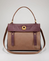 Yves Saint Laurent Muse Two Flap Bag