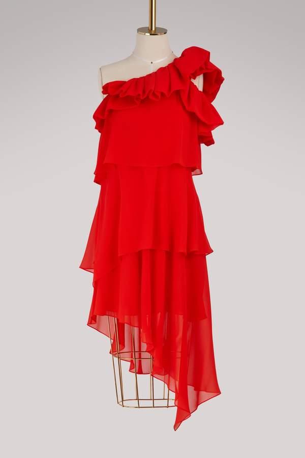 Givenchy Asymmetric short dress