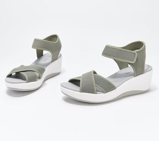 Clarks CLOUDSTEPPERS by Wedge Sport Sandals - Step Cali Skye