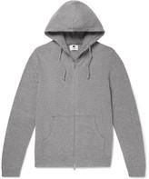 NN07 - Boiled Wool-Blend Zip-Up Hoodie