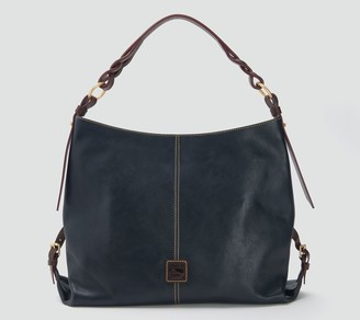 Dooney & Bourke Florentine Leather Twist Sac Shoulder Bag