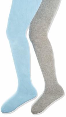 Playshoes Girl's elastische Thermo-Strumpfhosen Uni Komfortbund Tights