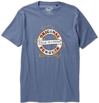 Original Penguin Rubber Ring Pete Short Sleeve T-Shirt