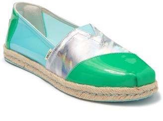 Toms Alpargata Bright Blue Slip-On Sneaker