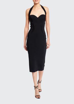 Chiara Boni Sweetheart Halter Dress