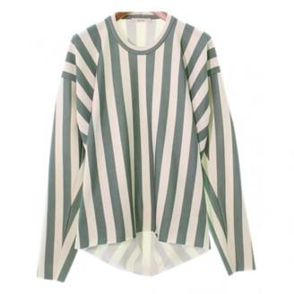 Celine White Cotton Knitwear for Women