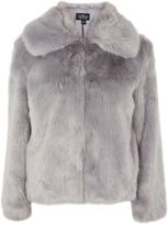 Topshop TALL Faux Fur Coat