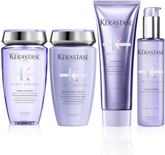 Kérastase Blond Absolu Shine, Strength, Neutralising and Heat Protection Routine