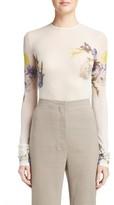 Acne Studios Women's Niala Sheer Floral Top